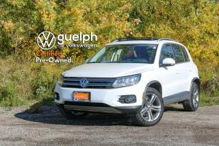 Used 2017 Volkswagen Tiguan Highline for sale in Guelph, ON