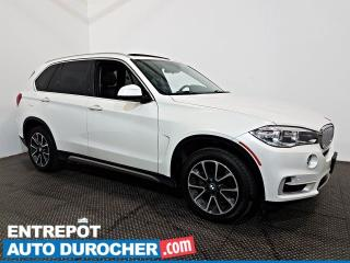 Used 2017 BMW X5 XDrive35i AWD NAVIGATION - Toit Ouvrant - A/C - for sale in Laval, QC