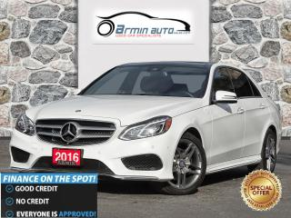 Used 2016 Mercedes-Benz E-Class E300 4MATIC | SPORT | NAV | BLIND | PANO | 360 | for sale in Etobicoke, ON