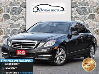 Used 2013 Mercedes-Benz E-Class E 300 4MATIC | NAV | BLINDSPOT | SUNSHADE | LED | for sale in Etobicoke, ON