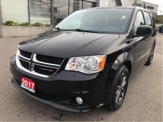 Used 2017 Dodge Grand Caravan Premium Plus w/Navi, Power Doors, Bluetooth, DVD for sale in Hamilton, ON