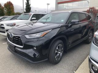 New 2021 Toyota Highlander HYBRID XLE for sale in North Vancouver, BC