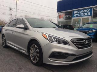 Used 2015 Hyundai Sonata Sport - Panoramic Sunroof - Bluetooth for sale in Cornwall, ON