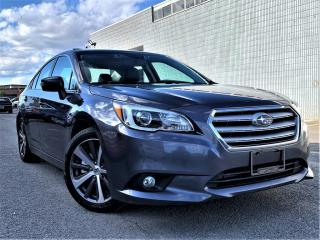 Used 2016 Subaru Legacy CVT 3.6R|SUNROOF|LANE ASSIST|HEATED SEATS |ALLOYS|NAVI! for sale in Brampton, ON