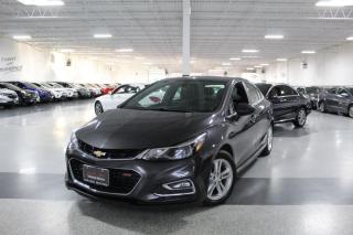 Used 2016 Chevrolet Cruze RS LT I SUNROOF I HEATED SEATS I POWER OPTIONS I BLUETOOTH for sale in Mississauga, ON