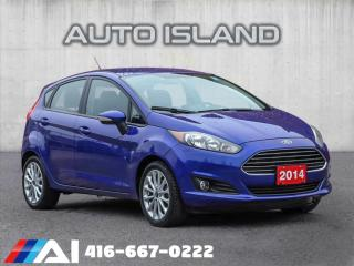 Used 2014 Ford Fiesta HATCHBACK**SPORTY 5 SPD MANUAL**ALLOYS for sale in North York, ON