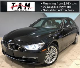 Used 2015 BMW 3 Series 328i xDrive Sedan NAVI Sunroof Back-Up Camera Parking Sensors Lane Departure Warning for sale in North York, ON
