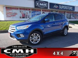 Used 2017 Ford Escape SE  4WD NAV CAM BT P/SEAT HTD-SEATS for sale in St. Catharines, ON