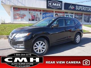 Used 2018 Nissan Rogue FWD S  CAM BLIND-SPOT CROSS-TRAF BT HTD-SEATS for sale in St. Catharines, ON