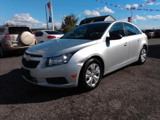 Used 2012 Chevrolet Cruze 2LS for sale in Dunnville, ON