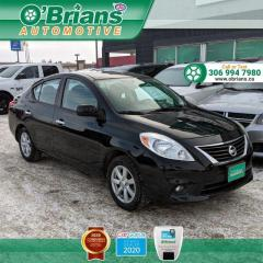 Used 2012 Nissan Versa 1.6 SL w/Cruise Control, Air Conditioning for sale in Saskatoon, SK