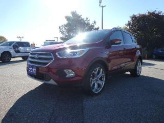 Used 2017 Ford Escape Titanium   Navigation   Panoramic Roof   Remote Start for sale in Essex, ON