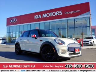 Used 2015 MINI Cooper Hardtop HB | ONE OWNER | LTHR | ROOF | HTD SEATS | 59,372K for sale in Georgetown, ON