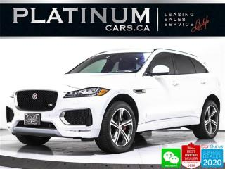 Used 2017 Jaguar F-PACE S, 380HP, NAV, PANO, HEATED, CAM, PARKING SENSORS for sale in Toronto, ON