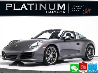 Used 2017 Porsche 911 Targa 4, CONVERTIBLE, 370HP, AWD, PDK, NAV, 20 INC for sale in Toronto, ON