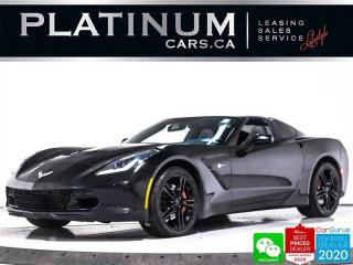 Used 2017 Chevrolet Corvette Stingray, 455HP, TARGA, CAM, ALCANTARA, KEYLE for sale in Toronto, ON