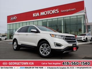 Used 2018 Ford Edge SEL | CLEAN CARFAX | NAV | PANO ROOF | 44,268 KM | for sale in Georgetown, ON