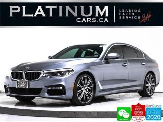 Used 2018 BMW 5 Series 540i xDrive, AWD, M-SPORT, NAV, SUNROOF, 360 CAM for sale in Toronto, ON