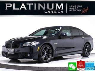 Used 2016 BMW 5 Series 528i xDrive, AWD, M-SPORT, HUD, NAV, CAM, HEATED for sale in Toronto, ON
