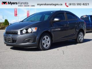Used 2013 Chevrolet Sonic LS  - Bluetooth -  OnStar for sale in Kanata, ON