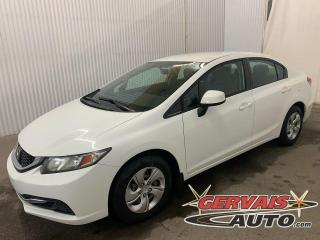 Used 2013 Honda Civic LX A/C Sieges Chauffants Bluetooth for sale in Trois-Rivières, QC