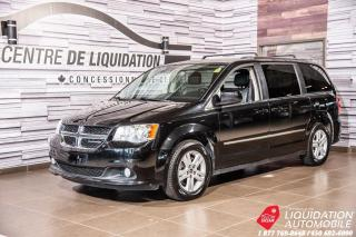 Used 2014 Dodge Grand Caravan Crew+CAM/RECUL+VOLANT&SIEGE/CHAUFF+STOW N GO for sale in Laval, QC
