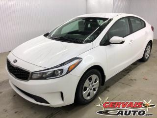 Used 2018 Kia Forte LX Bluetooth for sale in Trois-Rivières, QC