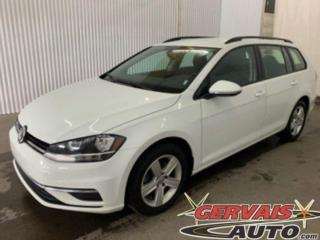 Used 2019 Volkswagen Golf Sportwagen Comfortline 4MOTION AWD Mags Caméra A/C Sièges chauffants *Traction intégrale* for sale in Trois-Rivières, QC