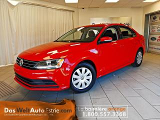 Used 2016 Volkswagen Jetta Trendline, Gr. Électrique, A/C, Manuel for sale in Sherbrooke, QC