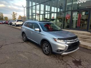 Used 2016 Mitsubishi Outlander GT AWC TOIT*CUIR*CAMÉRA for sale in Lévis, QC