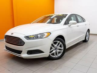 Used 2016 Ford Fusion SE CAMÉRA RECUL BLUETOOTH SIÈGES CHAUFFANTS *NAV* for sale in St-Jérôme, QC