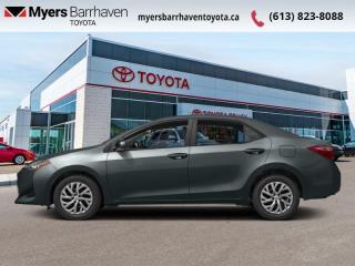 Used 2017 Toyota Corolla LE  - Heated Seats -  Bluetooth - $112 B/W for sale in Ottawa, ON