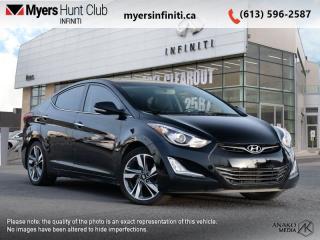 Used 2016 Hyundai Elantra Limited  - Navigation -  Sunroof for sale in Ottawa, ON