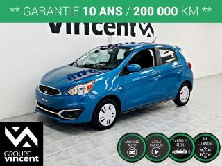 Used 2019 Mitsubishi Mirage ES ** GARANTIE 10 ANS ** Une voiture urbaine amusante à conduire! for sale in Shawinigan, QC