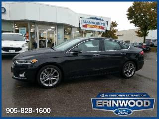 Used 2020 Ford Fusion Hybrid Titanium FWD for sale in Mississauga, ON
