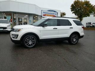 Used 2017 Ford Explorer SPORT for sale in Mississauga, ON