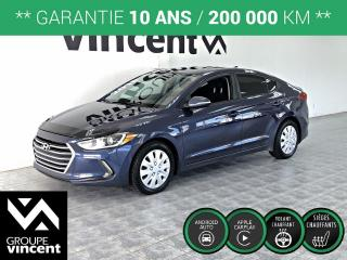 Used 2018 Hyundai Elantra GL ** GARANTIE 10 ANS ** Beaucoup d'équipement à faible prix! for sale in Shawinigan, QC