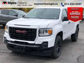 New 2021 GMC Canyon Elevation Standard  - 18-inch Wheels for sale in Orleans, ON