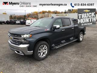 New 2021 Chevrolet Silverado 1500 LTZ  - Navigation for sale in Orleans, ON
