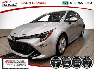 Used 2019 Toyota Corolla Hatchback SE* SIEGES CHAUFFANTS* CAMERA* for sale in Québec, QC