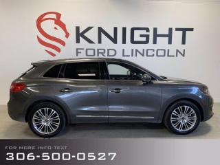 Used 2018 Lincoln MKX Loaded! Nav, Back-up Cam, Pano Sunroof, New tires, Fully Inspected! for sale in Moose Jaw, SK