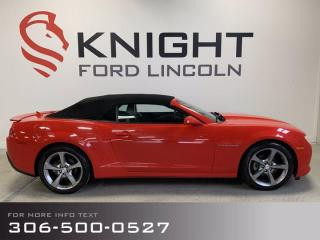 Used 2015 Chevrolet Camaro LT for sale in Moose Jaw, SK