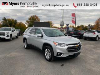 Used 2018 Chevrolet Traverse LT Cloth  - Bluetooth for sale in Kemptville, ON