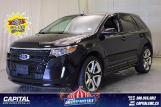 Used 2013 Ford Edge Sport AWD*LEATHER*SUNROOF*NAV* for sale in Regina, SK