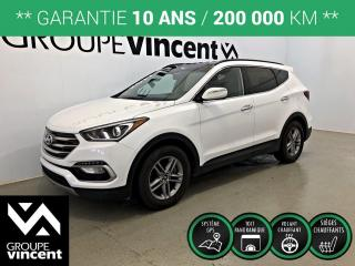Used 2017 Hyundai Santa Fe SPORT LUXURY AWD CUIR GPS ** GARANTIE 10 ANS ** VUS tout équipé et confortable! for sale in Shawinigan, QC