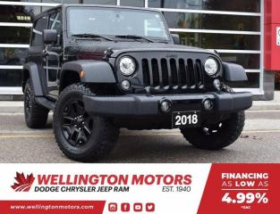 Used 2018 Jeep Wrangler JK Willys Wheeler >> TRAILER TOW GROUP !! for sale in Guelph, ON