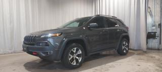 Used 2016 Jeep Cherokee Trailhawk 4 portes 4 roues motrices(AWD, for sale in Sherbrooke, QC