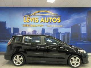 Used 2009 Mazda MAZDA5 GT MANUEL 6 PASSAGERS CUIR TOIT OUVRANT for sale in Lévis, QC