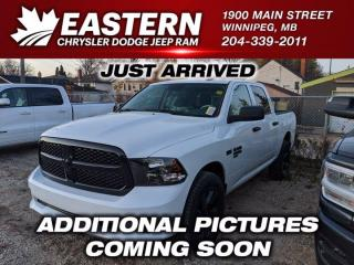 New 2020 RAM 1500 Classic Express | Remote Start | Backup Cam | Htd. Front Seats | for sale in Winnipeg, MB