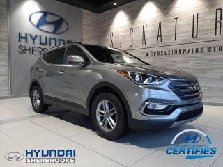 Used 2017 Hyundai Santa Fe PREMIUM AWD CAMERA BANCS/VOLANT CHAUFf for sale in Sherbrooke, QC